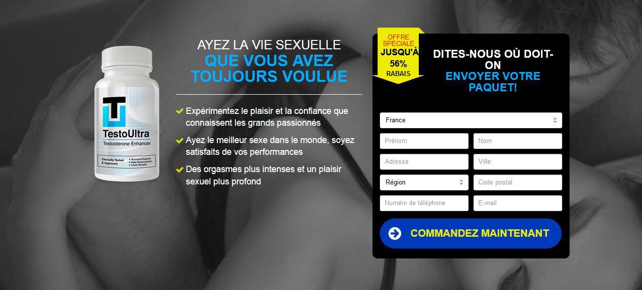 Testo Ultra Prix en France Effets Secondaires Arnaques et Où acheter